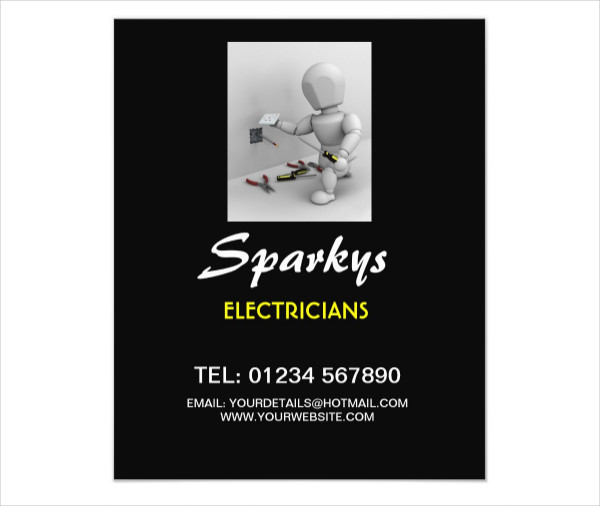 Flyer For Electrical Business