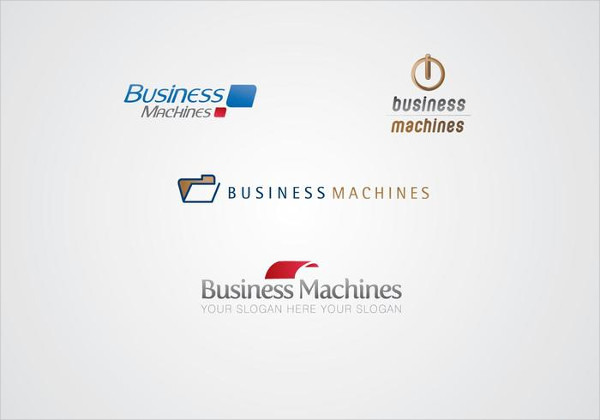 Free Business Machines Logo Template
