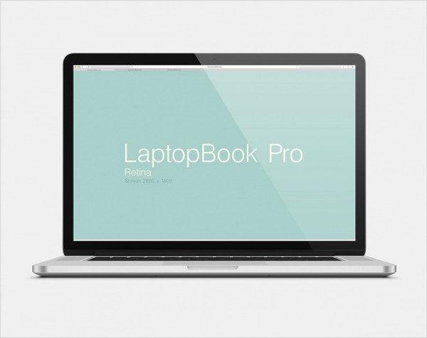 Free PSD Laptop Mock-Up Design Download