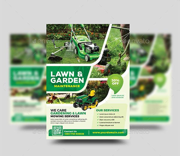 Gardening Landscaping Flyer