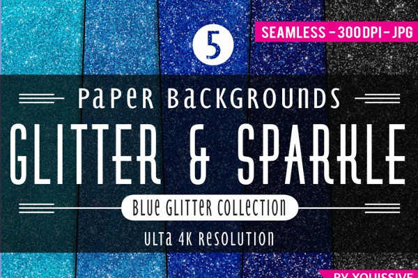 Glitter & Sparkle Paper Backgrounds