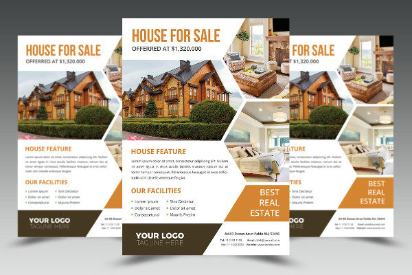 House for Sale Business Agency Flyer