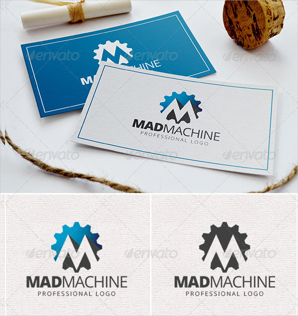 Mad Machine Professional Logo Template