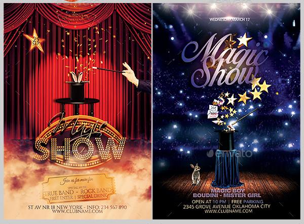 Magic Show Flyer Bundle