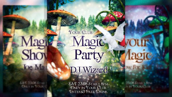Magician Flyer