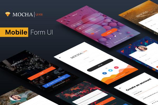 SignUp or Login Mobile Form UI Kit