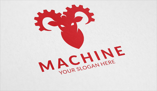 Simple Machinery Logo Design