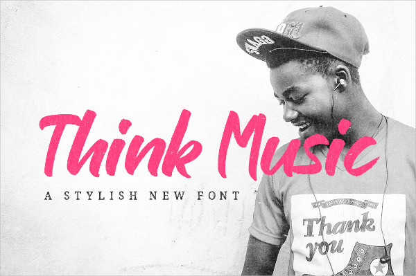 New Think Music Font