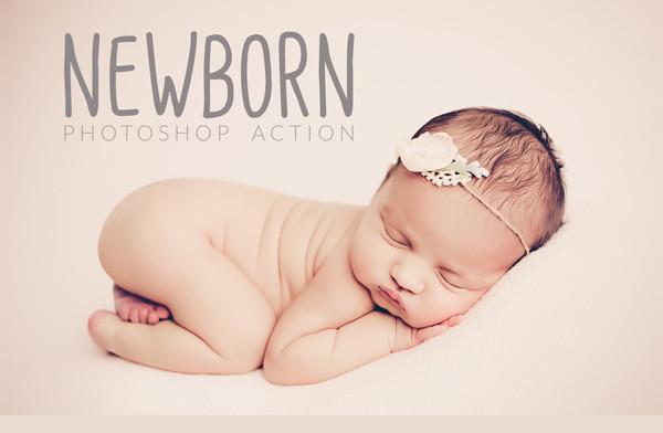 Newborn Photoshop Action