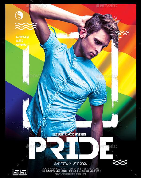 Print Ready Gay Flyer Template