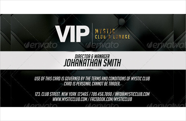 Professional Membership Card Template