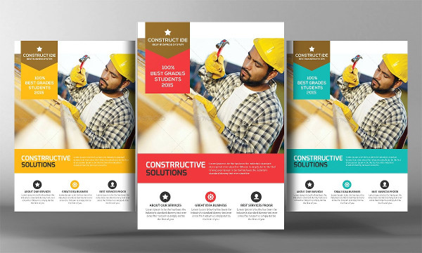 Fully Editable Electrician Flyer Template