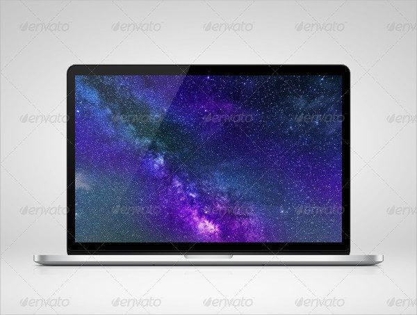 Retina Laptop Mock-Up