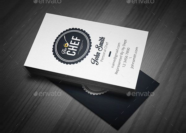 Simple Chef Business Cards