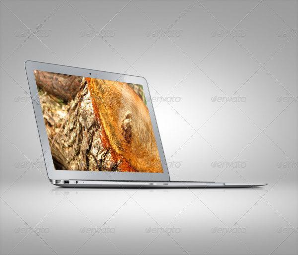 Sleek Laptop Mock-up