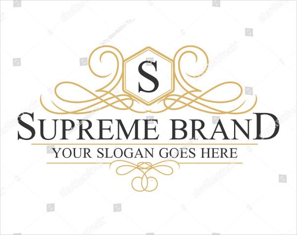 Supreme Brand Logo Design