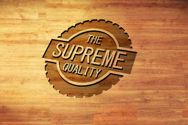 Vintage Supreme Quality Logo