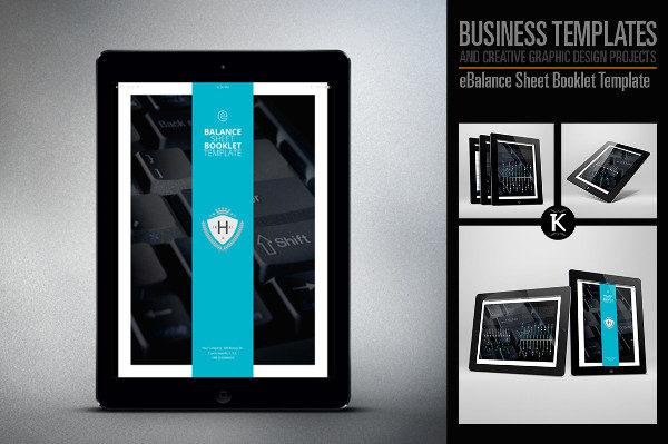 eBalance Sheet Booklet Templates