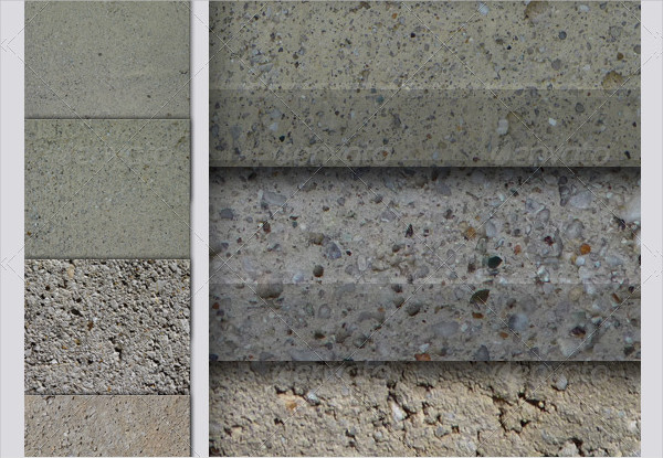 Pack Of 7 Perfect Concrete Textures