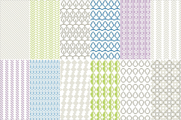 16 Seamless Pixel Patterns