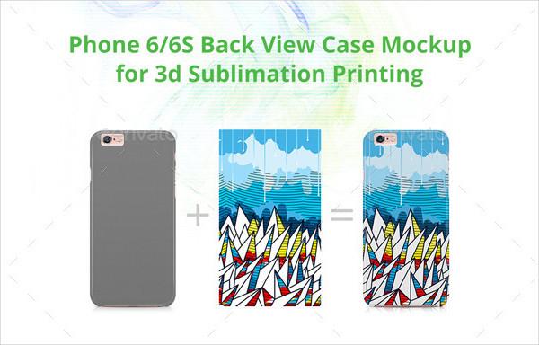 Phone 3D Case Design Mockup