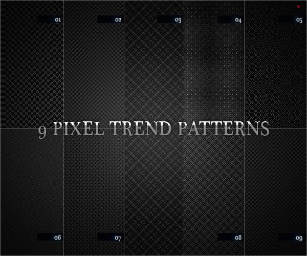 9 Pixel Trend Pattern