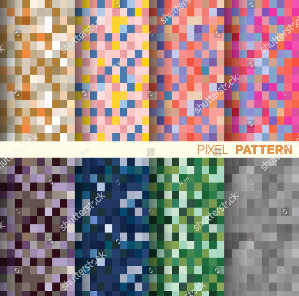 Cool Pixel Pattern