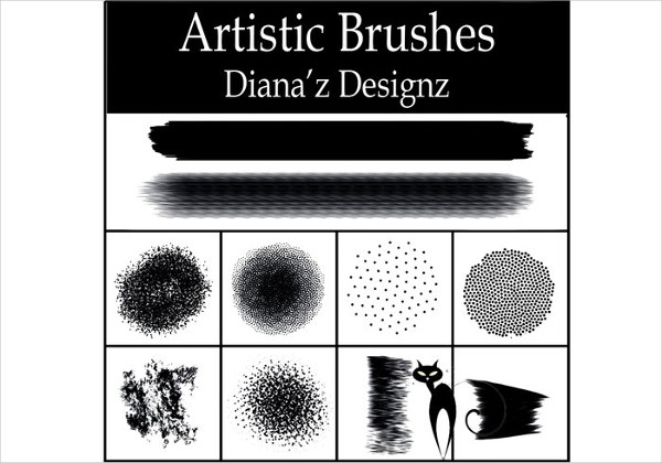 Artistic Brushes Free Download