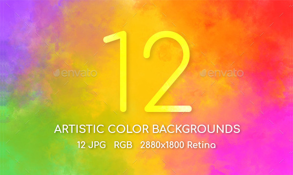 Artistic Color Backgrounds