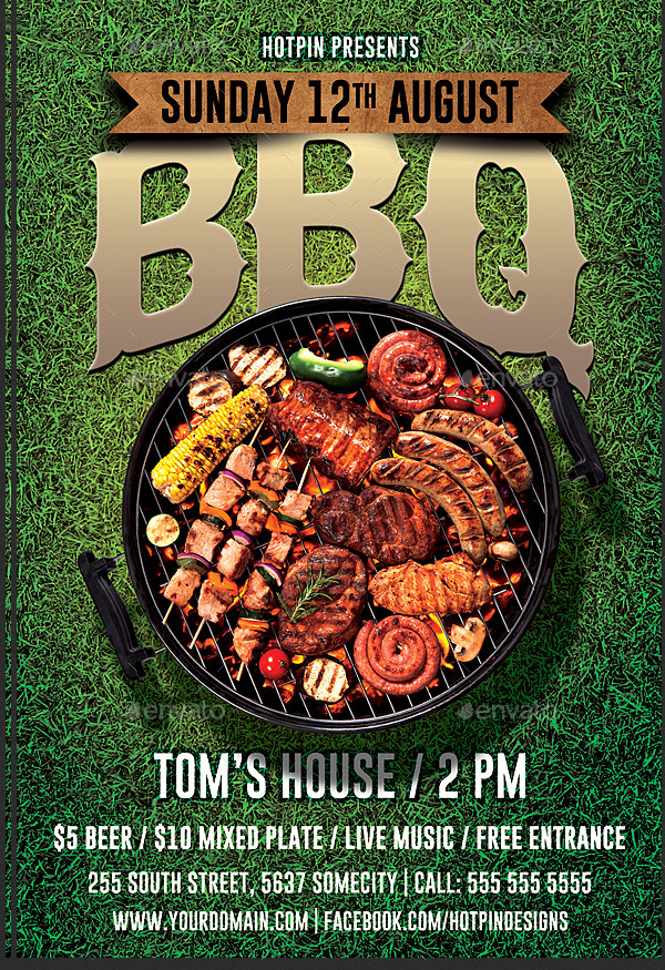 Best Barbecue Flyer Template