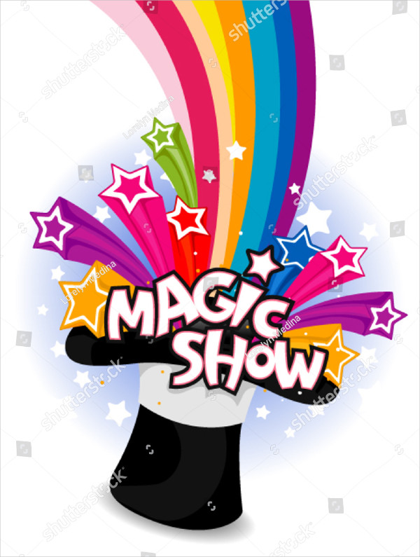 Beautiful Magician Flyer Design
