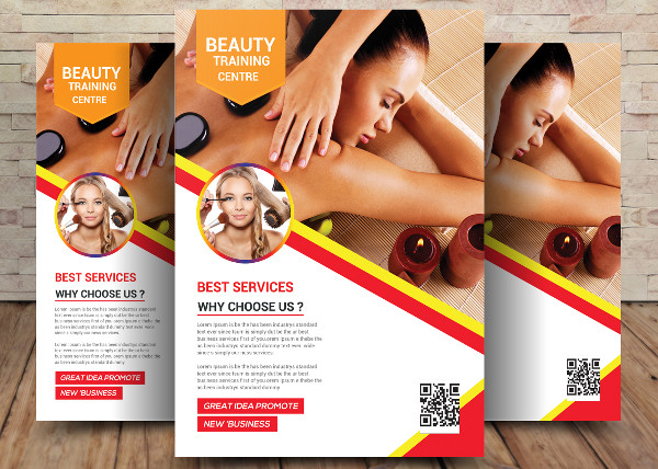 Custom Beauty Training Flyer