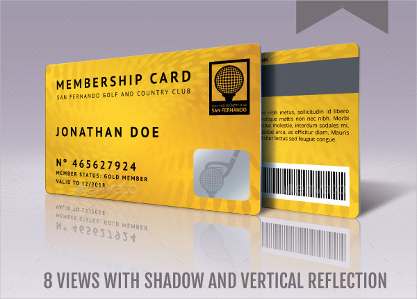 Best Membership Cards Template
