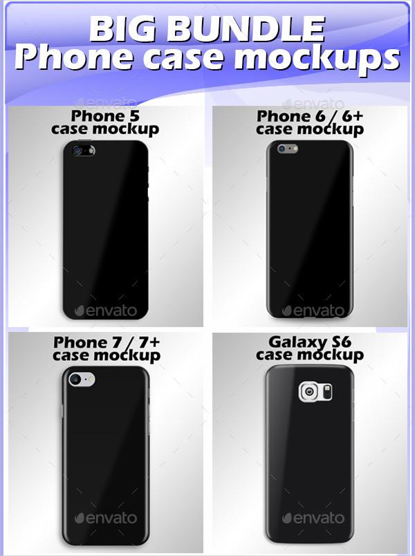 Big Bundle Phone Case Mockups
