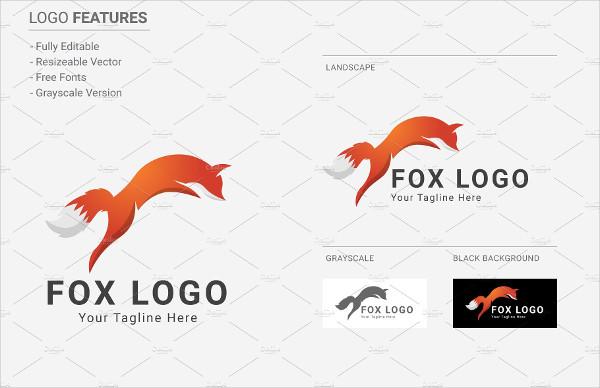 Fox Music Logo Template