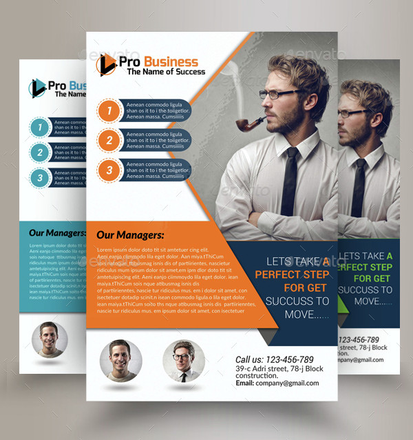 Business Training Agency Flyer Template