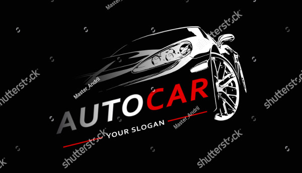 Car Logo Abstract Lines Vector