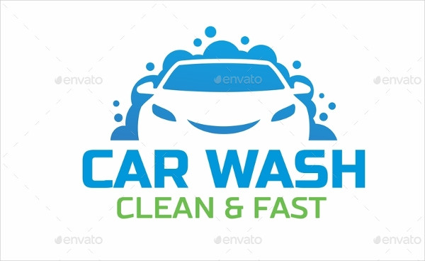Best Car Wash Services Logo Template