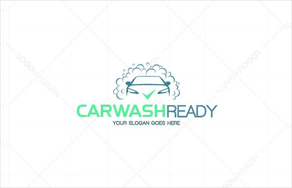 Car Wash Ready Logo