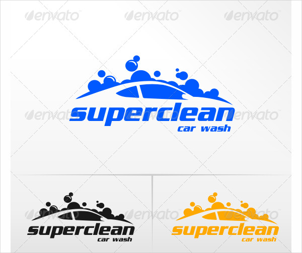 Clean Car Wash Logos