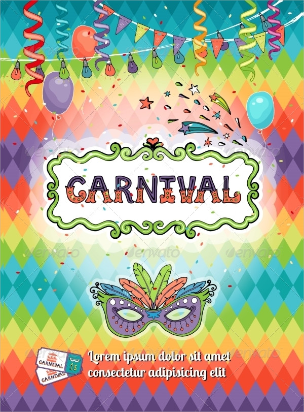Carnival Freak Show Poster Template
