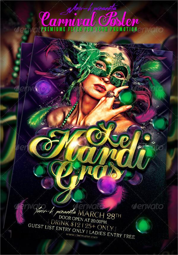 Carnival Celebration Poster Template