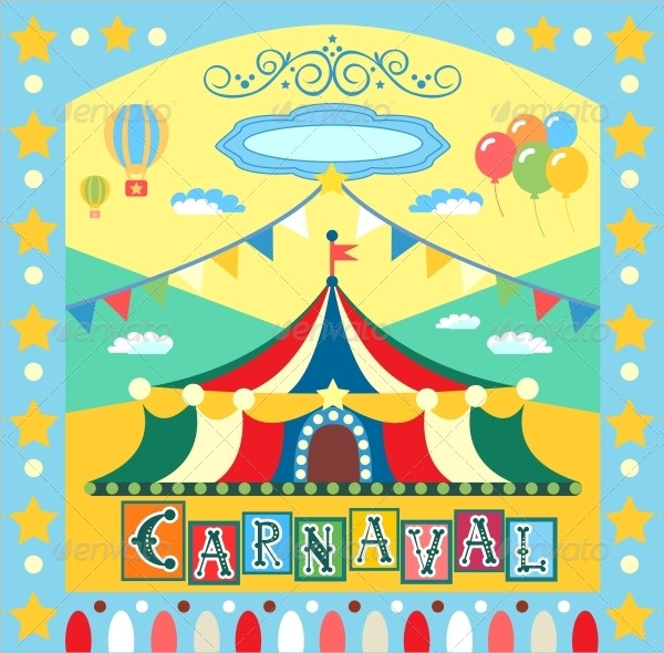 Carnival Event Poster Template