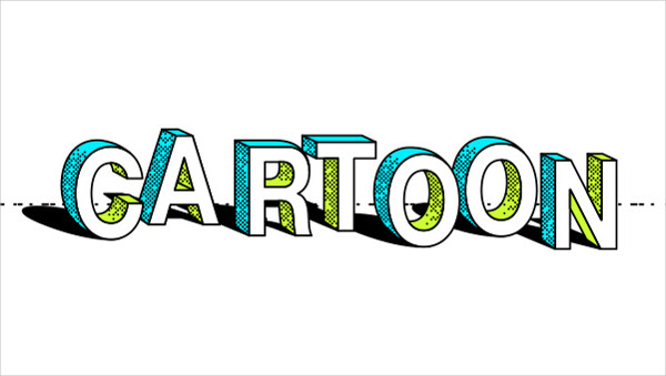 Cartoon Vector Text Effect Free Download