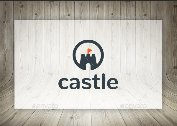 Castle Real Estate Logo Template