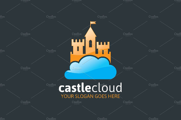 Castle Cloud Logo Design