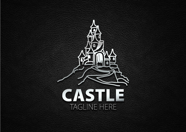 Castle Fancy Logo Template