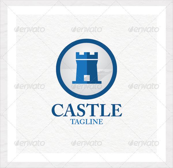 Famous Castle Logo Template