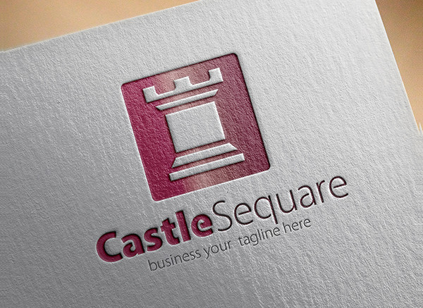 Castle Business Logo Template