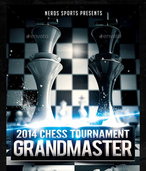 Best Chess Flyer Template